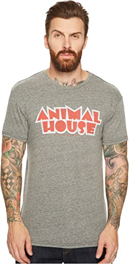 The Original Retro Brand - Animal House Short Sleeve Tri-Blend T-Shirt