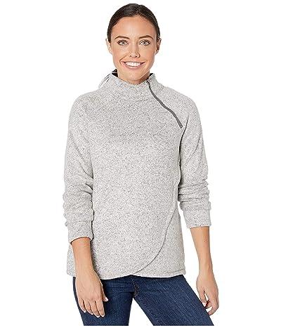 Aventura Clothing Harlow Zip Neck (White) Women