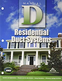 Manual D - Residential Duct Systems