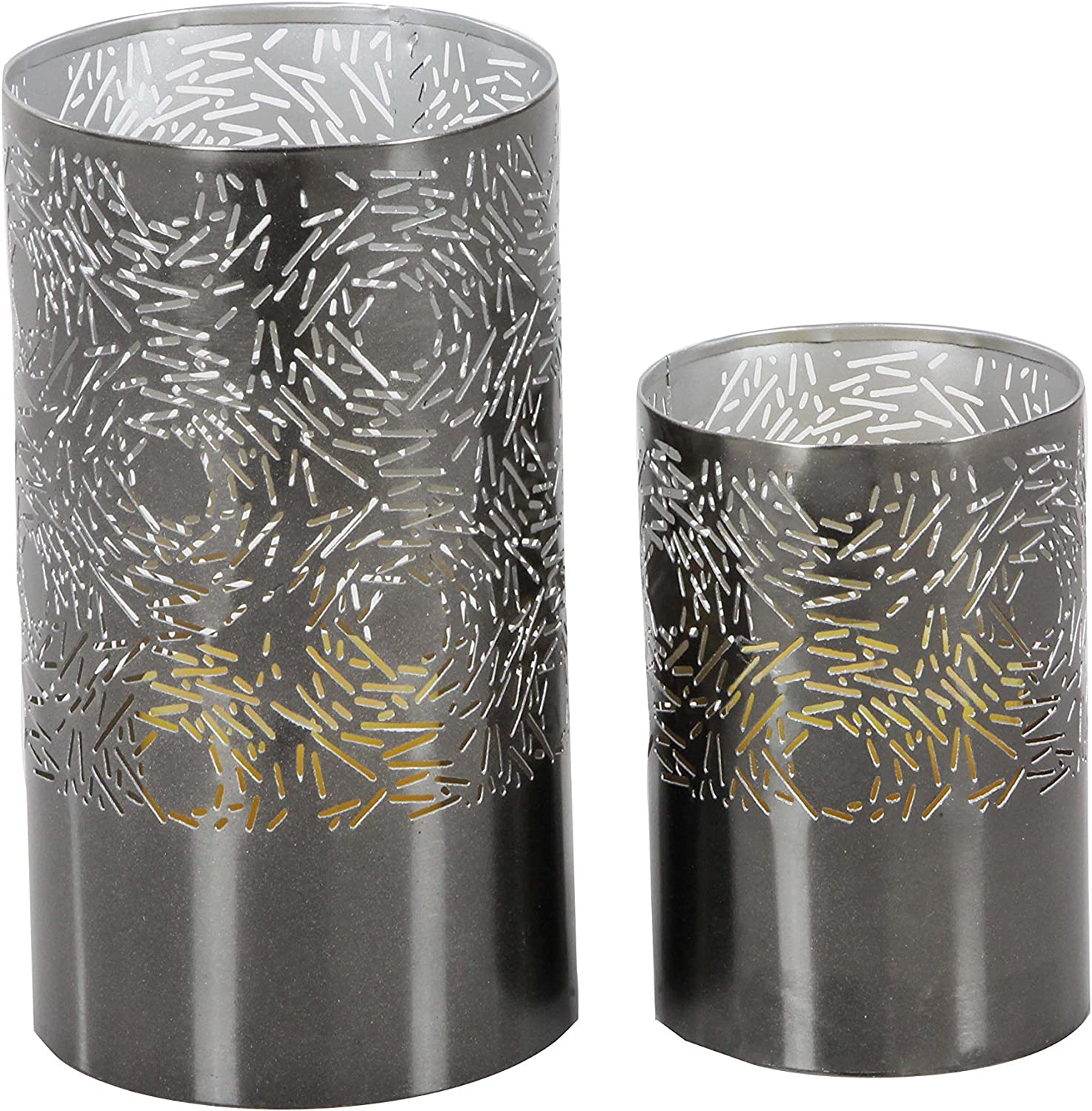 Deco 79 57361 Soldering Iron Cylindrical Candle Holders Popularity 6