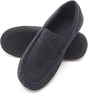 Men's Slippers House Shoes Moccasin Comfort Memory Foam Indoor Outdoor Fresh IQ