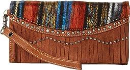 M&F Western - Southwest Fringe Wristlet Wallet