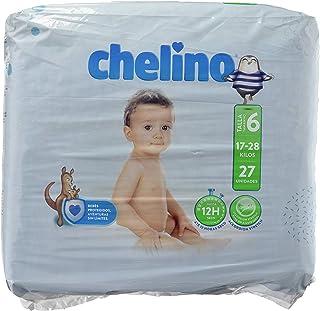 Chelino Fashion & Love, Talla 6, 27 pañales