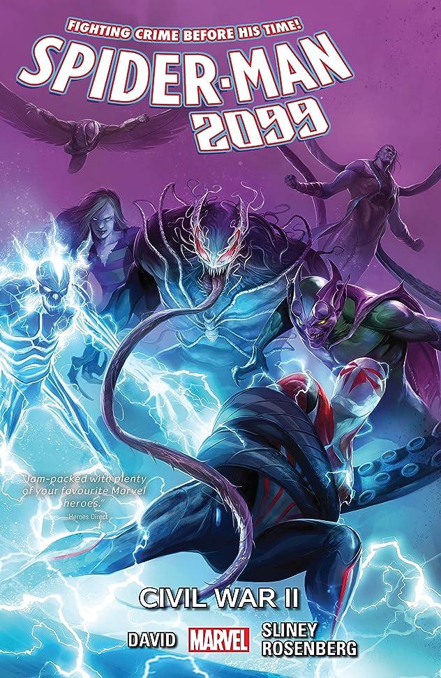 クリエイティブ分子ぐるぐるSpider-Man 2099 Vol. 5: Civil War II (Spider-Man 2099 (2015-2017)) (English Edition)