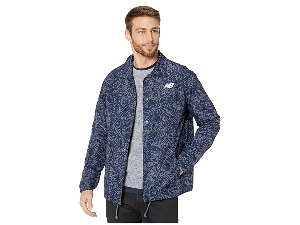 New Balance Classic Coaches Jacket (Moontide) Men