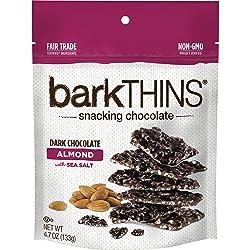 Bark Thins Dark Chocolate Almond with sea salt - 4.7 oz