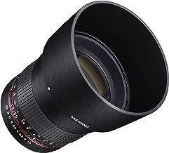 Samyang SY85M-FX 85mm F1.4 Ultra Wide Lens for Fuji X Mount Cameras