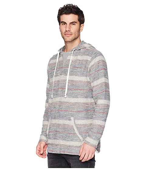 With Paypal Cheap Online In UK True Grit Pacific Combed Cotton Vintage Washed Poncho with Stitch Details Red Cheap Sale Good Selling Shop Cheap Price Supply For Sale j0T5x4
