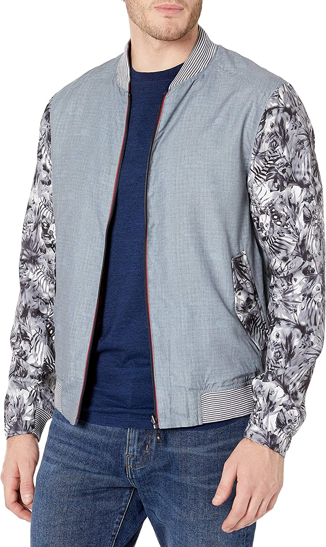 Robert Graham Sales for sale Men's Nimble cheap Poly Bomber Cotton Jacket Woven