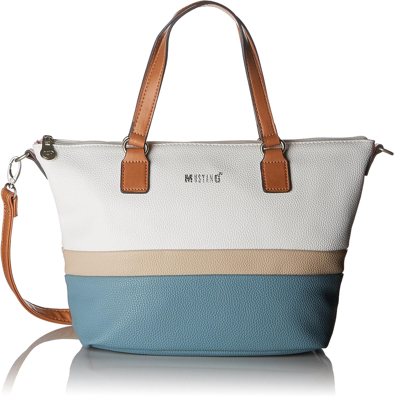 Mustang Damen Damen Damen Pittsburg Emma Handbag Mhz Henkeltasche, 12x24x39 cm B07BNNQ2LN  Primäre Qualität 170354