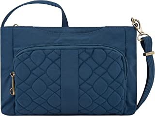Travelon Travelon Anti-theft Signature Quilted E/W Slim Bag, Ocean (blue) - 43323-332