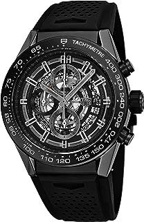 Tag Heuer Carrera Calibre Heuer 01 Automatic Chronograph Ceramic Bezel Men's Watch CAR2A90.FT6071