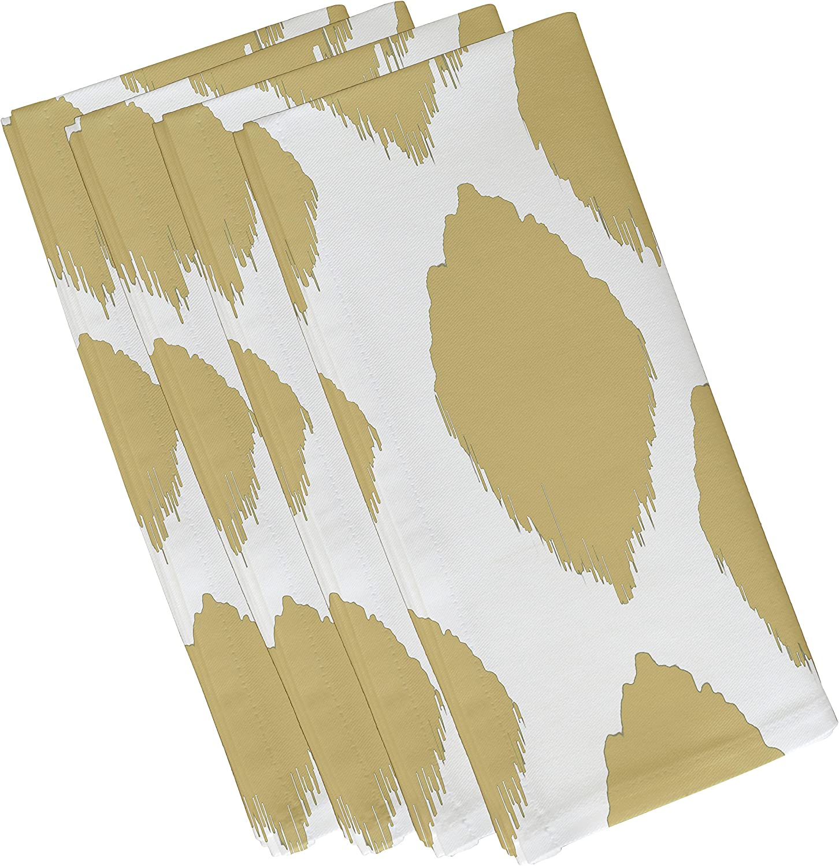 E von Design n4gn15Gelb geometrischen dekorativen Serviette, 48,3x 48,3cm gelb