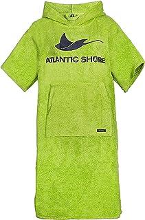 comprar comparacion Atlantic Shore   Surfponcho (Unisex) * Albornoz de algodón de Primera Calidad ➤ Verde