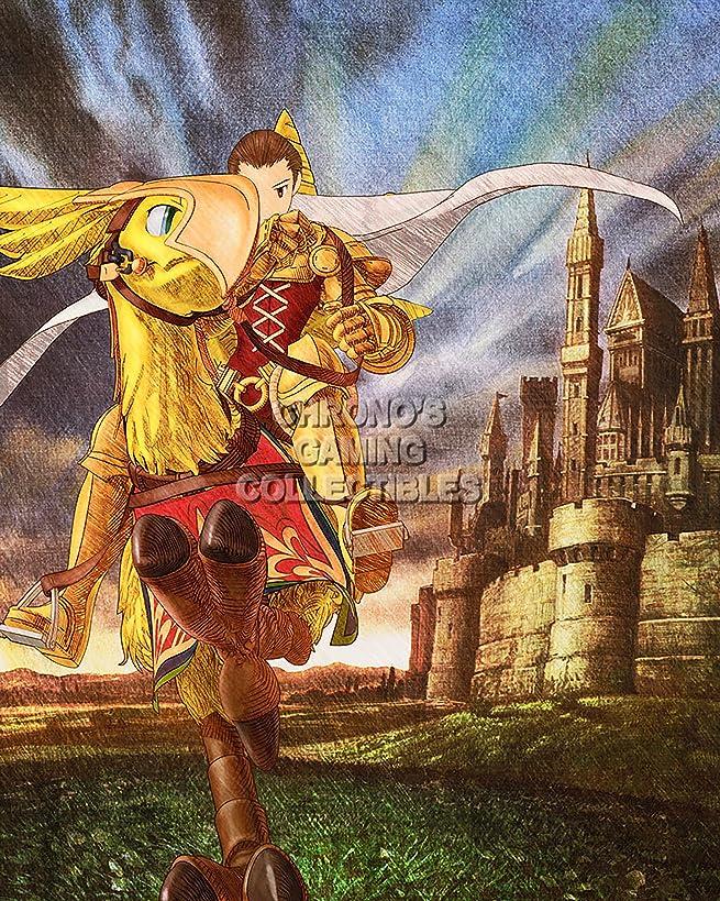 Final Fantasy CGC Huge Poster Tactics PS1 PS2 PSP Vita Nintendo DS GBA - FTA005 (24