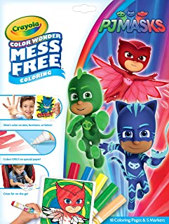 Crayola Color Wonder Coloring Book Pages & Markers Mess Free Coloring Gift for Kids