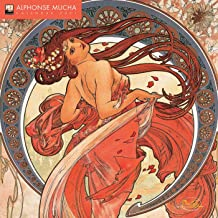 Alphonse Mucha Wall Calendar 2021 (Art Calendar)