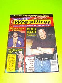 Bret Hart, Razor Ramon Scott Hall, Hulk Hogan (New Wave Wrestling Magazine - November 1996)