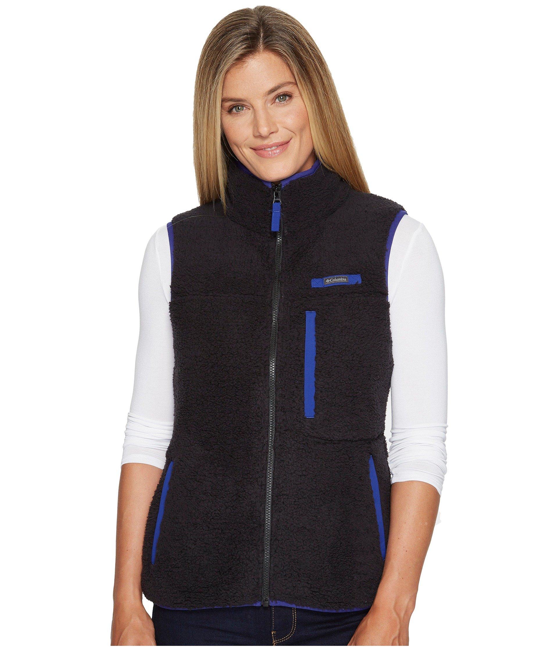 Columbia Mountain Side Heavyweight Fleece Vest At Zappos Com