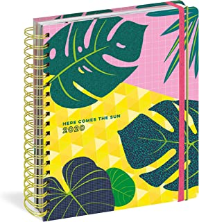 Here Comes the Sun 17-Month Large Planner with 1000+ Stickers 2019-2020 (Pipsticks+Workman)