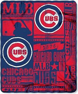 The Northwest Company MLB Mens MLB Strength 50-inch by 60-inch Printed Fleece Throw