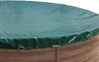 GRASEKAMP Calidad Desde 1972 84221 - Lona para Piscina Ovalada (625 x 360 cm, 700 x 440 cm), Color Verde