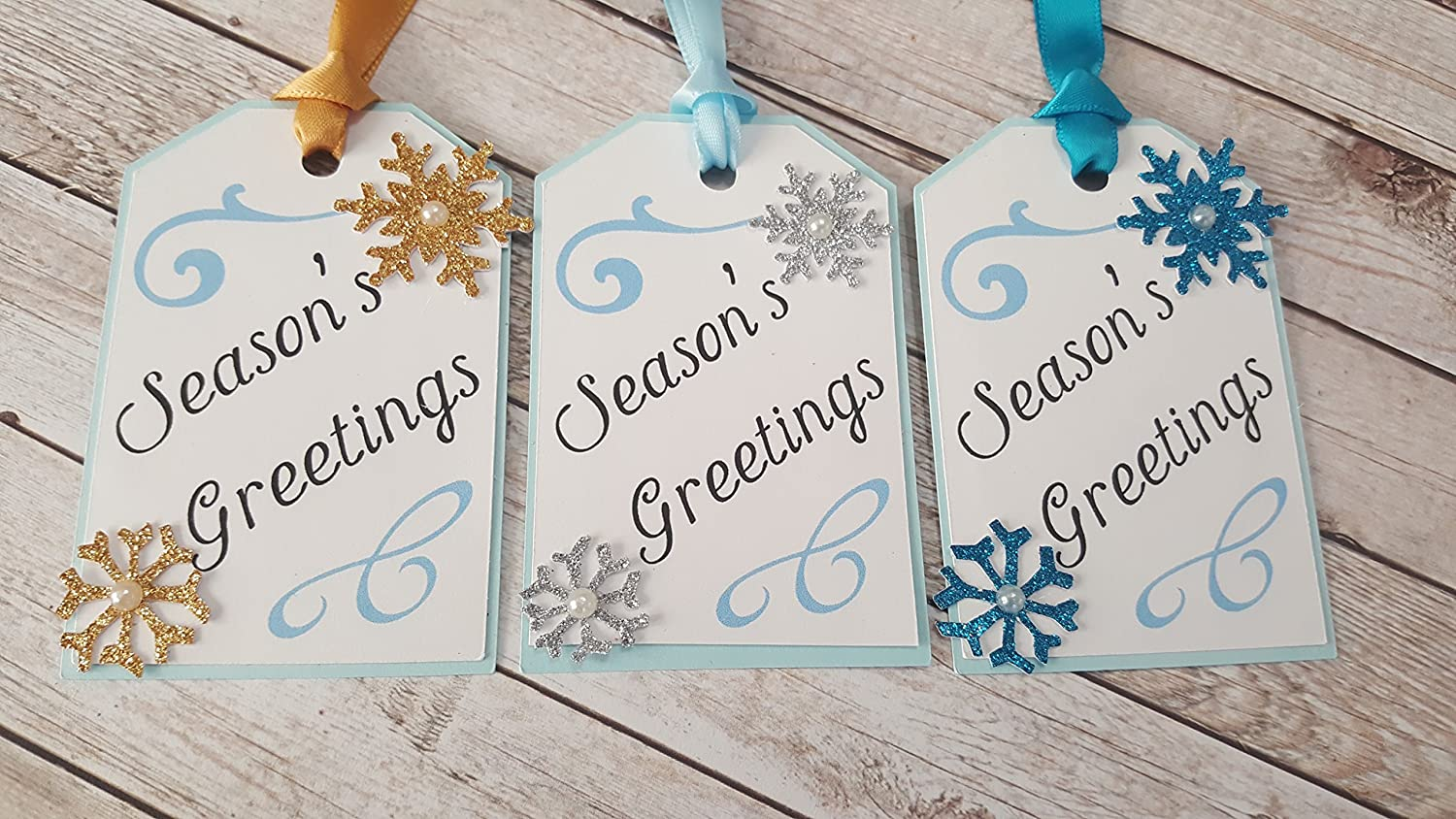 Christmas Holiday Gift Tags of Max 45% OFF Genuine set 6