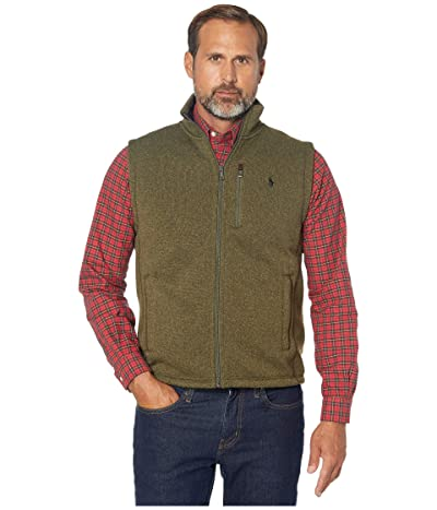 Polo Ralph Lauren Sweater Fleece Vest (Alpine Heather) Men