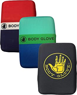 Men's Body Glove RFID Blocking Water Resistant Neoprene Wallet- Surfing/Beach Hard Shell/Soft Cover