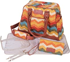 Trend Lab Waverly Baby Panama Wave Adobe Carryall Nappy Bag, Multicolor