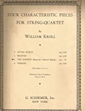 The Ancient (Based on a Hebrew Melody) by William Kroll for String Quartet Violin I, Violin II, Viola, Cello