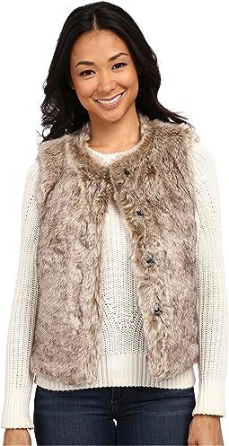 Rock It Color Tipped Fur Vest