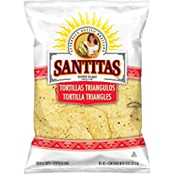 Santitas White Corn Tortilla Chips, 11 Ounce