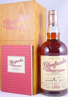 Glenfarclas 1992 25 Years The Family Casks Sherry Butt Cask 2901 Highland Single Malt Scotch Whisky Cask Strength 57,6% Vol. - eine von 524 Flaschen!