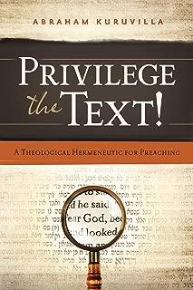 privilege the text