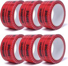 gws Pakkettape vergrendeld rood PP stil   verpakkingstape professionele kwaliteit   Instructieband Duits/Engels/Frans/Ital...