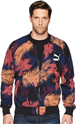 Summer Tropical Varsity Jacket AOP
