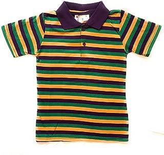 Best mardi gras striped polo shirt Reviews