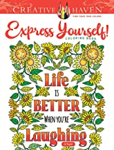 Creative Haven Express Yourself! Coloring Book (Creative Haven Coloring Books)