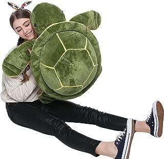 DOLDOA Big Plush Eyes Sea Turtle Stuffed Animal Tortoise Toys for Children Girlfriend (25 inch)