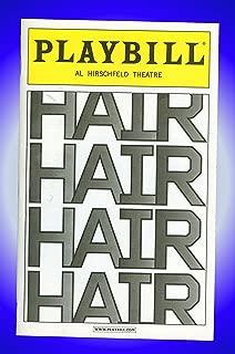 Hair, Broadway Playbill + Will Swenson , Gavin Creel , Sasha Allen , Darius Nichols, Kacie Sheik, Caissie Levy