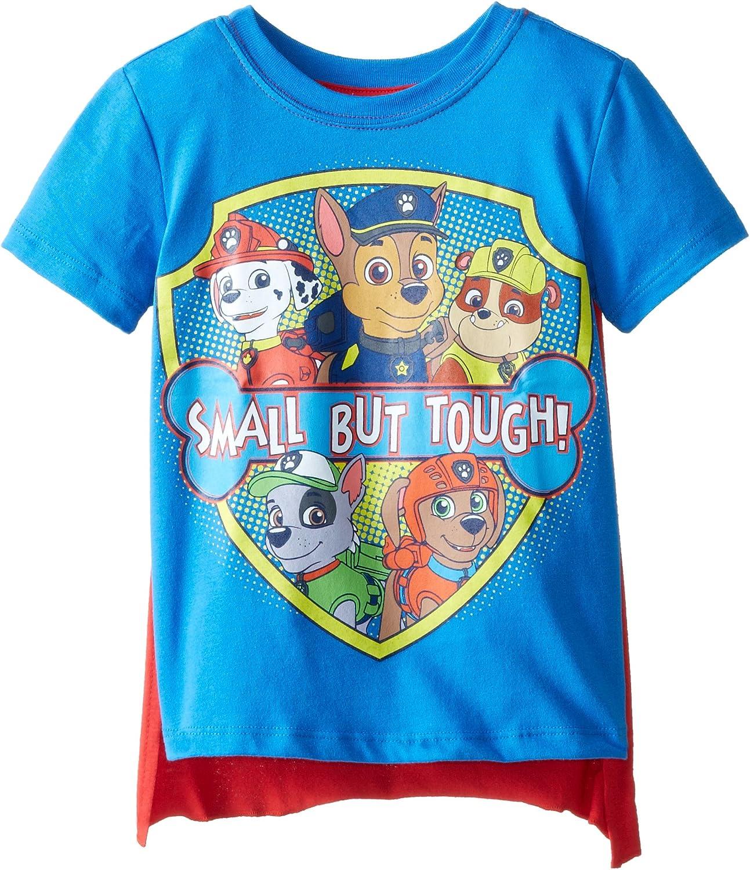 Paw Patrol Boys' Toddler Small But Tough Cape T-Shirt