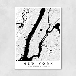 New York City Map - 18 x 24 in