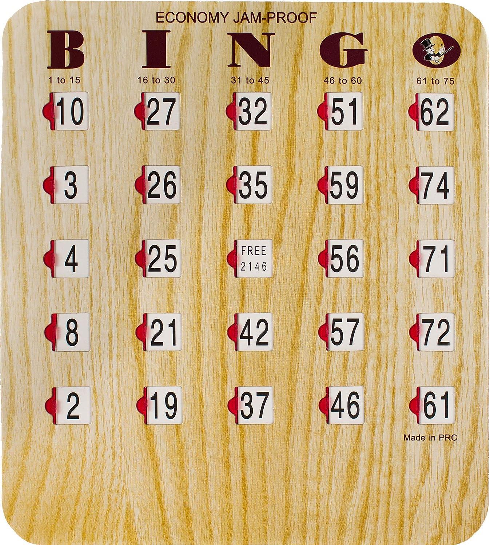 MR CHIPS Phoenix Mall Jam-Proof Time sale Fingertip Bingo with Cards Windows Sliding