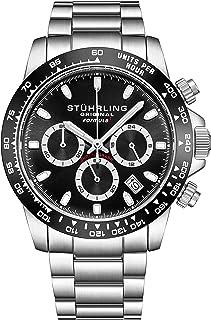 """ساعة ستاهرلنغ اورجينال للرجال رياضية كرونوغراف - ستانلس ستيل سوار مطلي غير لامع، 891 Formula""""i"""" مجموعة ساعات"""