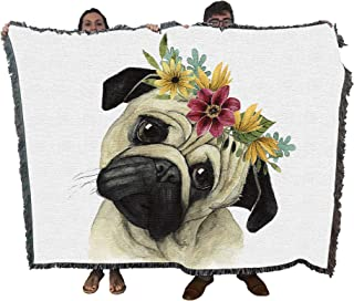 Best pug with flower crown Reviews