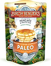 product image for Paleo Pancake & Waffle Mix by Birch Benders, Low-Carb, High Protein, High Fiber, Gluten-free, Low Glycemic, Prebiotic, Keto-Friendly, 12 oz