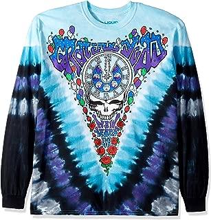 Liquid Blue Grateful Dead Midnight Hour Long Sleeve T-Shirt