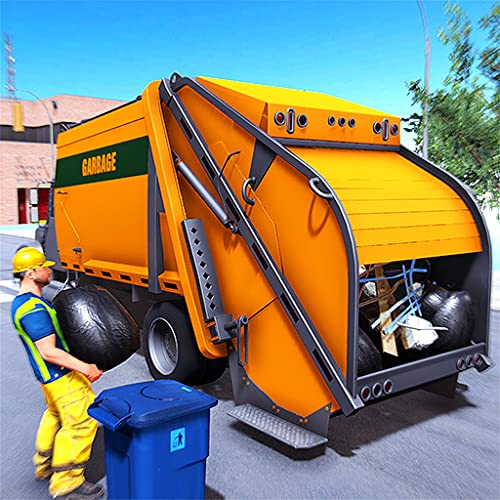City Garbage Truck Sim 3D: Trash Dumper Truck Driving 2019