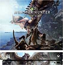 Monster Hunter World MHW Game Skin for Xbox One X Console 100% Satisfaction Guarantee!